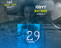 HAPPY BIRTHDAY MARCELO