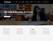 Usual - Multipurpose HTML Template