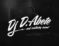 Dj D.Abete // Logo