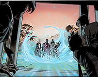 SECOND COLOR SAMPLE ALL NEW X-MEN