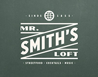 Mr. Smith's Loft - Visual Identity