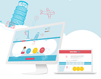 Дизайн сайта для оформления виз в разные страны