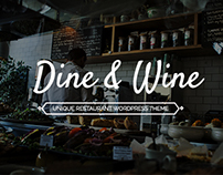 Dine&Wine- Restaurant WordPress Theme