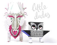 LITTLE DUDES / PAPER CHARACTER DESIGN