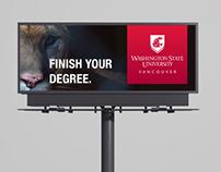 Ad campaign for WSU Vancouver