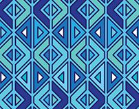 Triangle Aztec Print