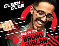 Clash Club w/ Bruno Furlan