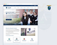 Alexander Academy Website