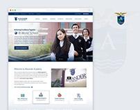 Alexander Academy Website
