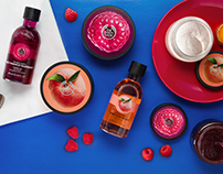 The Body Shop - Raspberry and Peach - Instagram
