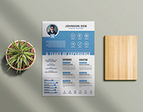Free Professional Clean Resume Template