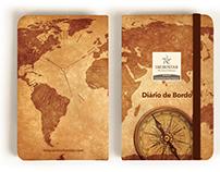 Caderneta Diário de Bordo