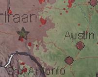 Iraan Sat Map
