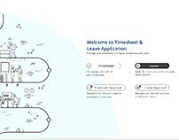 Timesheet Application UX