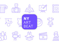 NY Art Beat | App Design