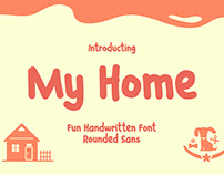 My Home - Fun Handwritten Font