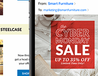Email Marketing & Production, Smart Furniture