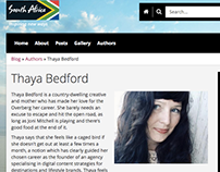 Author for South African Tourism 2015