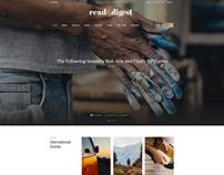 Read & Digest WordPress Theme