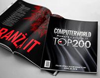 Computerworld TOP200 - layout design