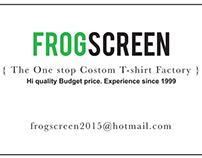 Frogscreen namecard