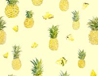 Pineapple textile