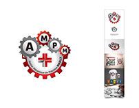 Atelier Mécanique de Précision (AMPM) - Logo, Design