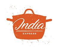 Logo design options for India express