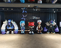 HANDS IN FACTORY X League of Legends