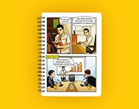Company Culture Comic / Adira Finance