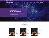 The Living Spirit - Website Landing Page