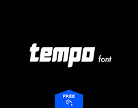 Tempo Energetic Typeface - Free Download