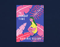 「 THE MONDAY TIME 」设计集合店品牌设计