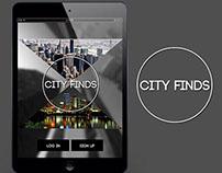 City Finds mobile app design
