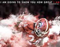 Georgia vs Alabama Hype Graphic