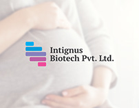 Intignus Biotech branding