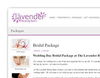 The Lavender Beauty Barn Website
