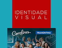 Identidade Visual   Aniversário Comlines Tramontina