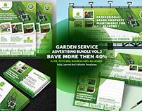 Garden Landscape Service Advertising Bundle vol.2