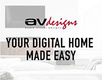 AVdesign Website