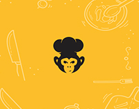 DARIO ESCOBAR CHEF (El Mono) personal card design