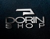 DORIN SHOP Logo design | طراحی لوگو فروشگاه دُرین شاپ