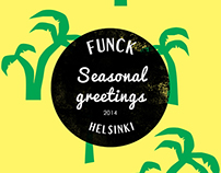 Christmas greetings, packaging design, Funck