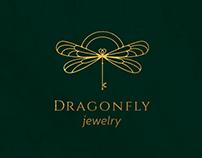 Dragonfly jewelry logo