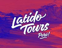 Latido Tours brand identity // diseño de marca