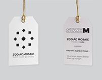 Zodiac Mosaic - Fabric Meets Geometry
