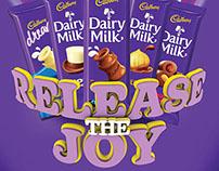 Cadbury Release the Joy Promotion