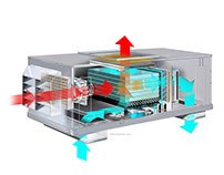 HVAC animation asset creation.