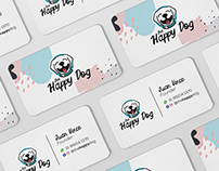 The Happy Dog - estudo de Branding