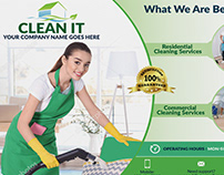 Cleaning Services EDDM POSTCARD